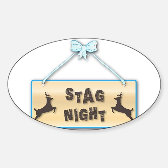 Stag Night Decal
