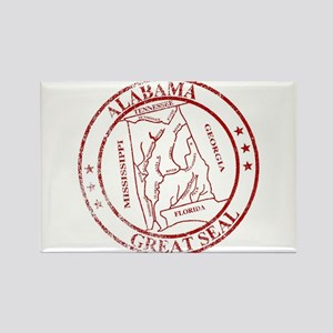 Alabama State Seal Stamp Magnets