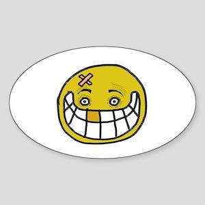 Bizarre Smile Sticker