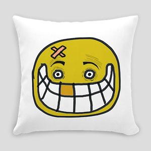 Bizarre Smile Everyday Pillow