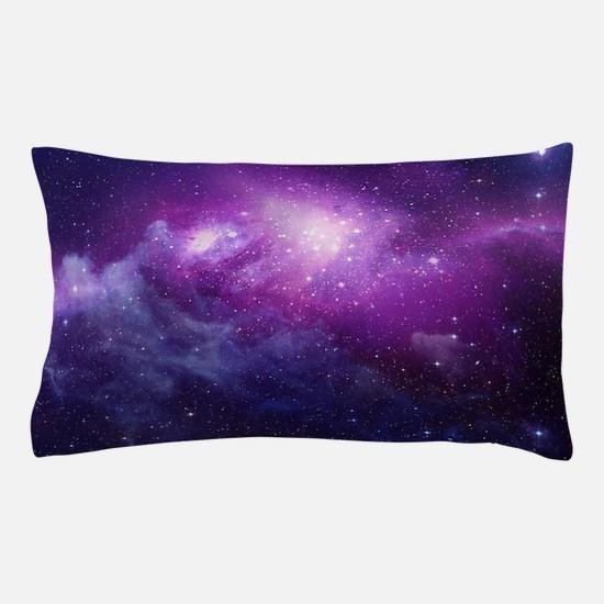 Purple Space Pillow Case