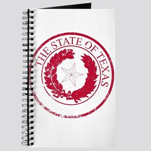 Texas State Rubber Stamp Seal Journal