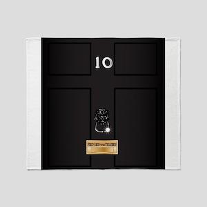 Number Ten Downing Street Throw Blanket