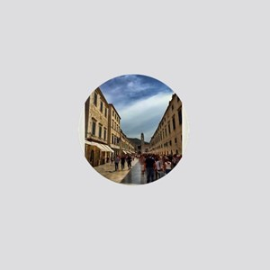 Downtown Dubrovnik - Croatia Mini Button