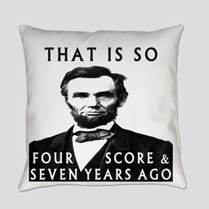 Abe Lincoln Everyday Pillow