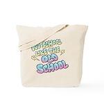 Old School Hip-Hop Tote Bag