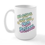 Old School Hip-Hop Large Mug