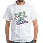 Old School Hip-Hop White T-Shirt