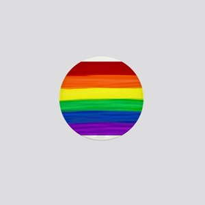 Gay rainbow art Mini Button (10 pack)