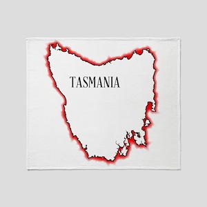 Tasmania Throw Blanket