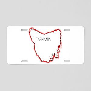 Tasmania Aluminum License Plate