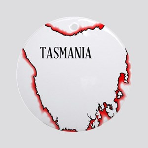 Tasmania Round Ornament