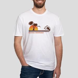 Roatan Honduras Fitted T-Shirt