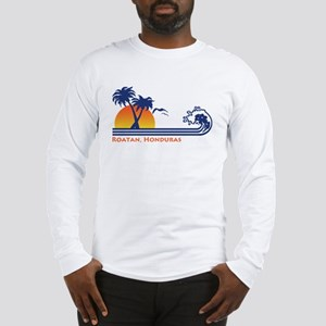 Roatan Honduras Long Sleeve T-Shirt