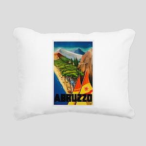 Abruzzo Italy - Vintage Travel Rectangular Canvas