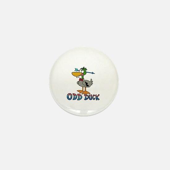 Odd Duck Mini Button