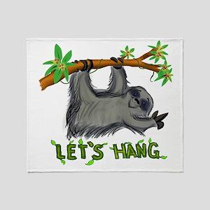 Let's Hang! Throw Blanket