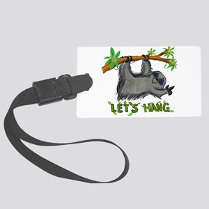 Let's Hang! Large Luggage Tag