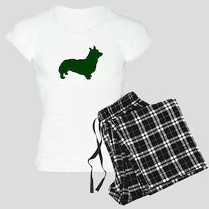Corgi Green 1 Pajamas