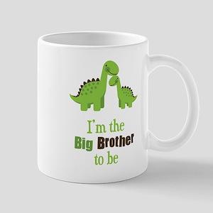Dino Big Brother to Be Mug