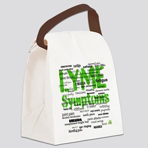 Symptoms Canvas Lunch Bag