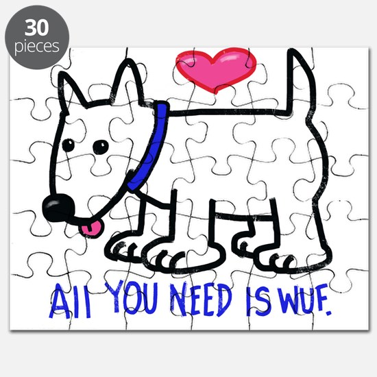 All you Need Is Wuf love Puzzle