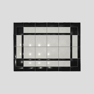 Ceramic Tile 5'x7'Area Rug