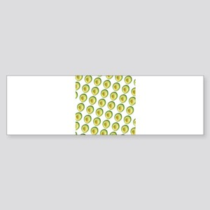 Scrummie Avocado Juliette's Fave Bumper Sticker