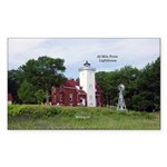 40 Mile Point Lighthouse Sticker