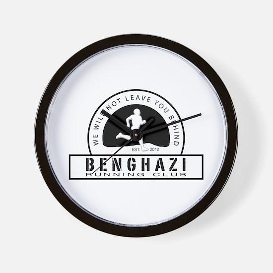 Benghazi Running Club Wall Clock