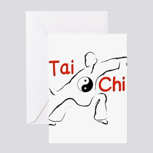 Tai Chi Greeting Cards