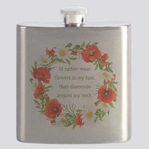 I'D RATHER WEAR... Flask