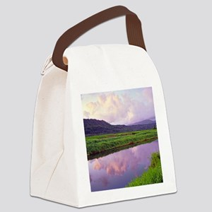 Hanalei Dawn Kauai Canvas Lunch Bag