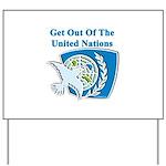 United Nations Yard Sign
