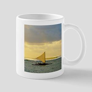 Tropical Sunset Sail and Surf Mug