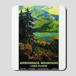 Adirondack Mountains Lake Placid N.Y. Mousepad