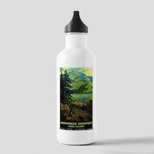 Adirondack Mountains Lake Placid N.Y. Water Bottle