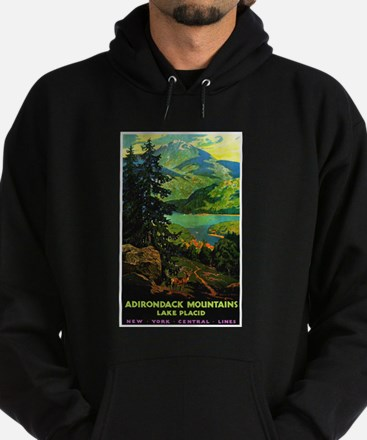 Adirondack Mountains Lake Placid N.Y. Hoodie