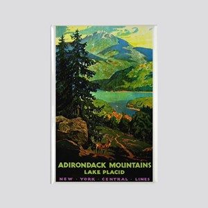 Adirondack Mountains Lake Placid N.Y. Magnets