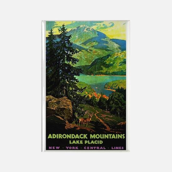 Adirondack Mountains Lake Placid N.Y. Magnets