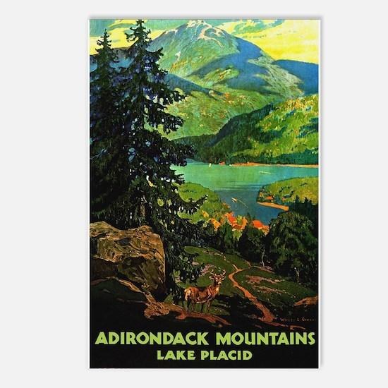 Adirondack Mountains Lake Placid N.Y. Postcards (P