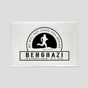 Benghazi Running Club Rectangle Magnet