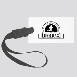 Benghazi Running Club Large Luggage Tag