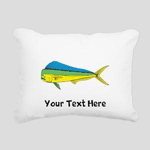 Mahi Mahi (Custom) Rectangular Canvas Pillow