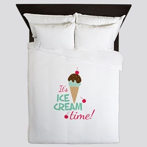 Ice Cream Time Queen Duvet