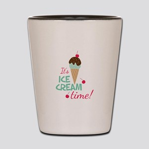 Ice Cream Time Shot Glass