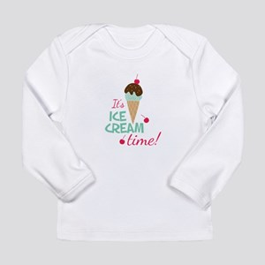 Ice Cream Time Long Sleeve T-Shirt