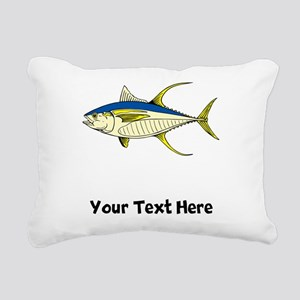 Tuna Fish (Custom) Rectangular Canvas Pillow
