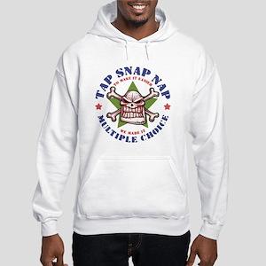 Tap Snap Nap Hooded Sweatshirt