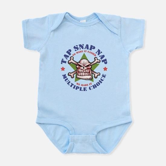 Tap Snap Nap Infant Bodysuit